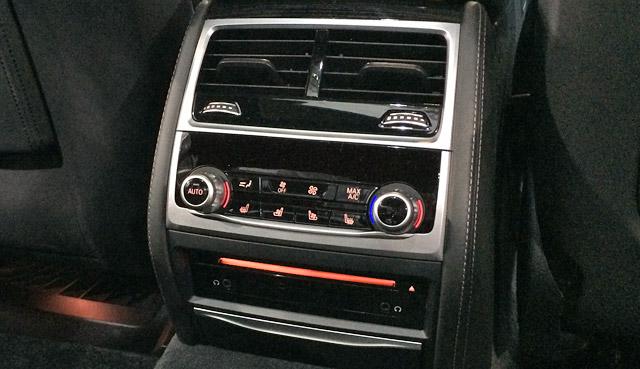 M760Li xDrive-後席用エアコンシステム