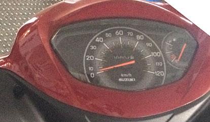 大型化されたスピードメーター