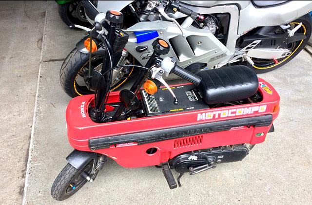 シティに積める原付バイク