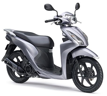 ホンダの小型125cc_空冷新型ディオ110