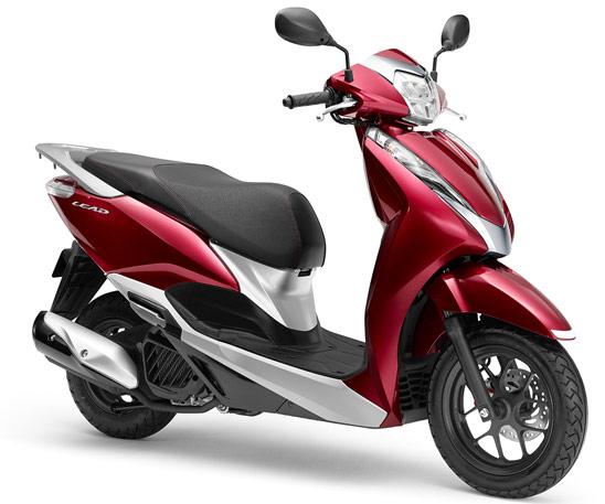 ホンダの小型125cc_水冷新型リード