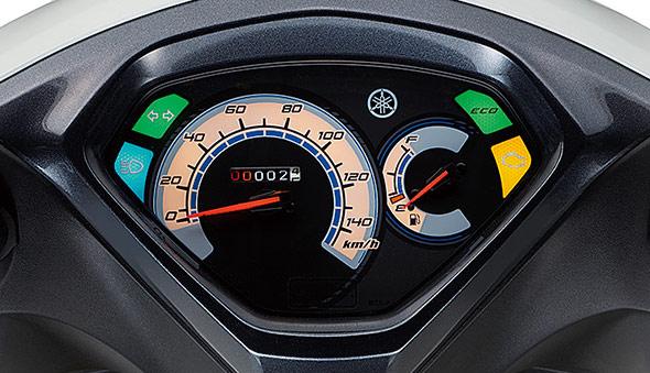 空冷アクシスZのアナログスピードメーター
