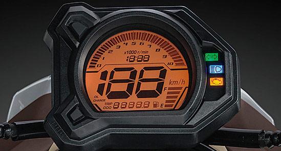 BW'Sビーウィズ125のデジタルスピードメーター