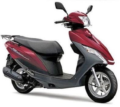 スズキの小型125cc_空冷エンジン・新型アドレス125
