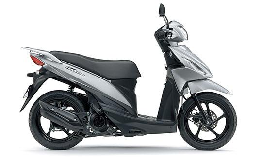 スズキの小型125cc_空冷エンジン・新型アドレス110