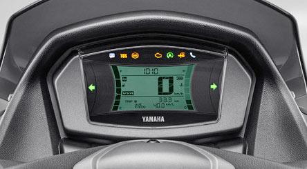 2代目N-MAX125 メーターデザインが変更