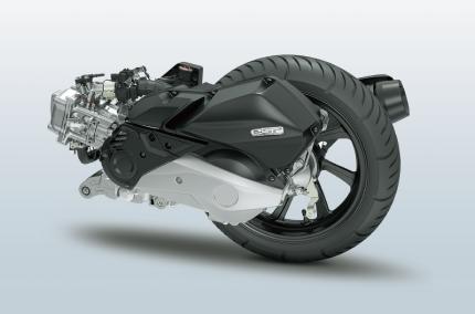 新型JF81PCXのespエンジン
