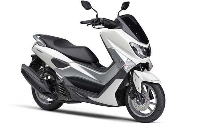 ヤマハ新型N-MAXパールホワイトツートンカラー