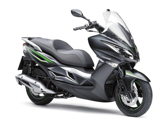 カワサキ新型ビッグスクーターJ125cc キムコOEMモデル