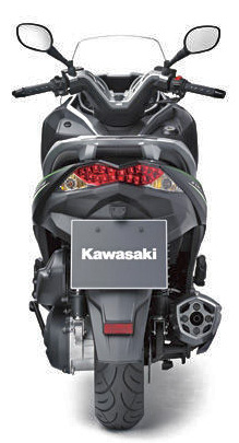 カワサキ_J125_後からの車体写真