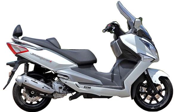 台湾SYM・ビッグスクーター新型joymax125