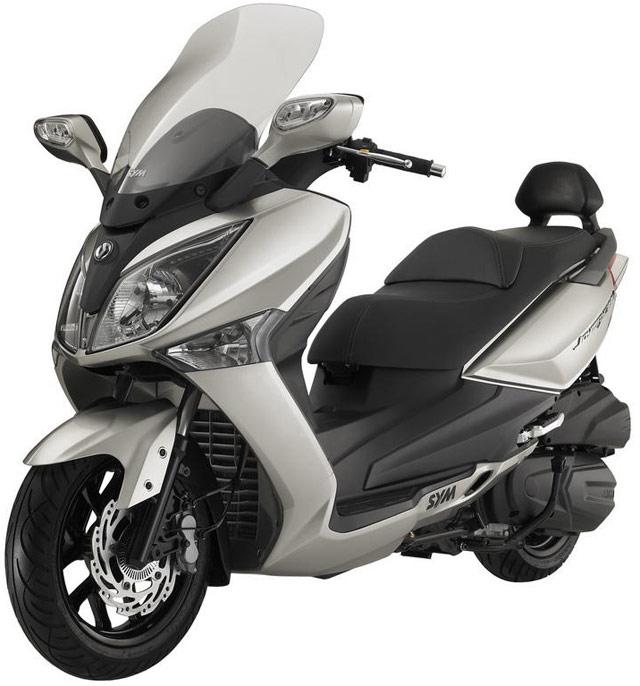 台湾SYM・フルサイズスクーター新型joymax125