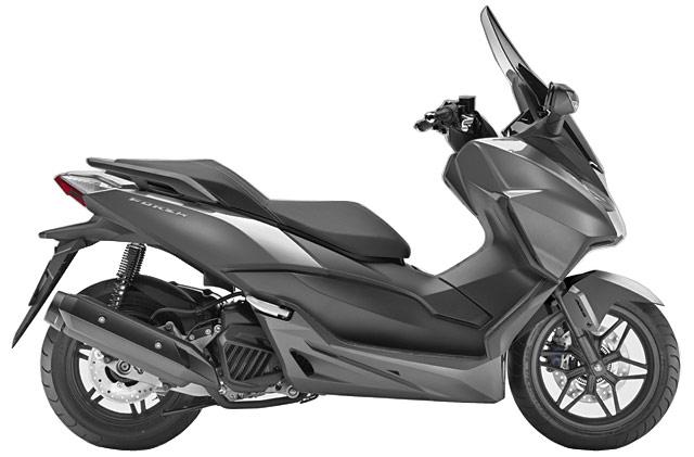 ホンダ・ビッグスクーター新型フォルツァ125