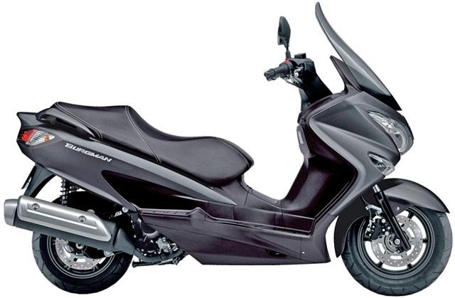スズキ・ビッグスクーター新型バーグマン125