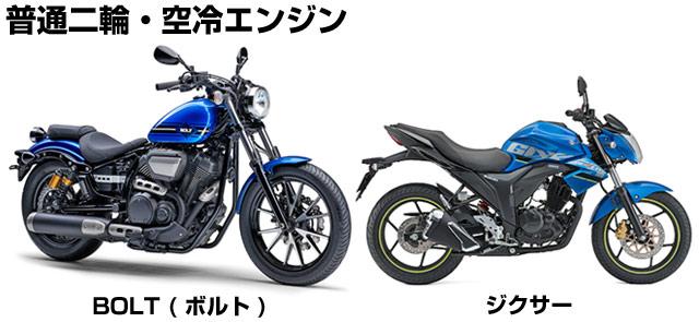 空冷エンジン中型バイク_ボル