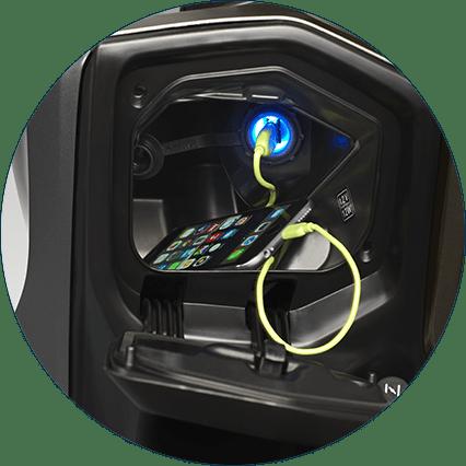 バーグマンストリート_USB充電ソケット
