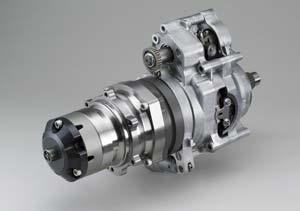 油圧無段階変速機HFT