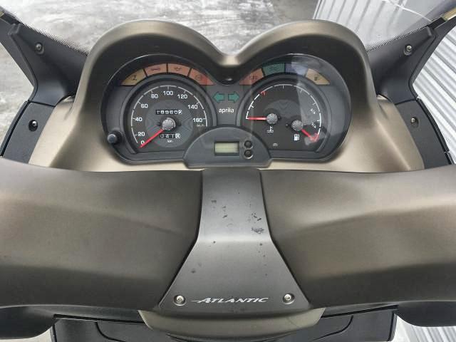 アトランティック125_スピードメーター