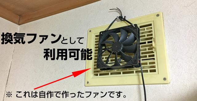 USB機器、扇風機代わりのPCファンはモバイルバッテリーで涼しく過ごせる。