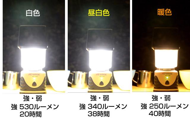 停電用におすすめ白色LED、SOL-013C
