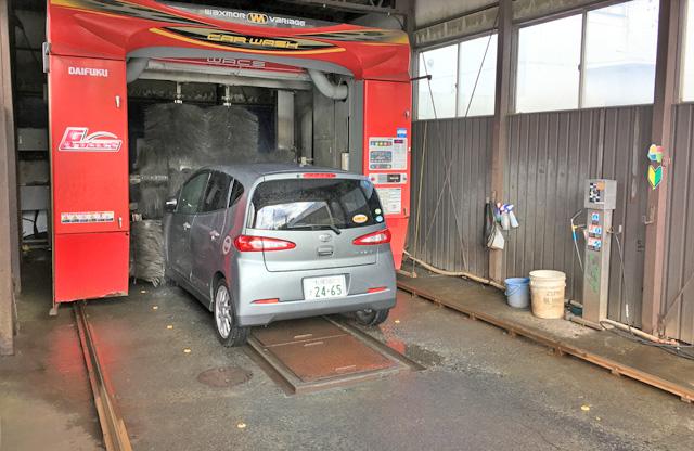鏡面ポリマーワックス洗車が可能です。札幌西区のガソリンスタンド太平ダイナコ。