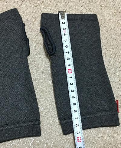 ブレスサーモsp19のサイズ。全長は19cm