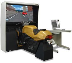 125ccバイクシュミレーター教習 三菱RS-6000