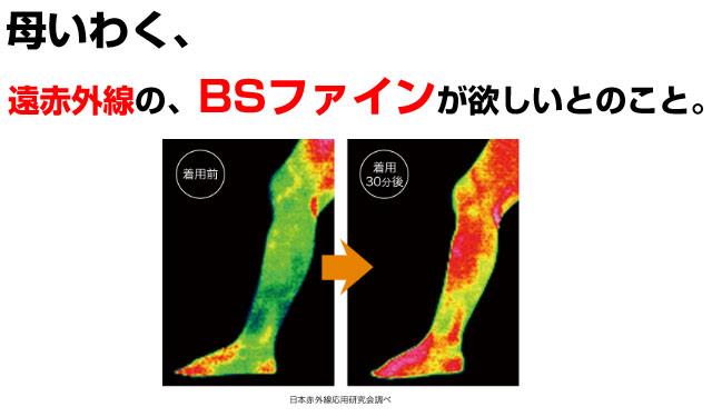 bs ファイン レッグ ウォーマー