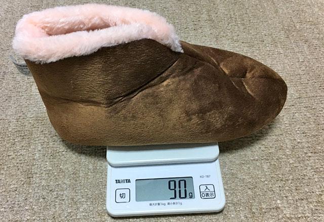 重さは90グラムと軽い。