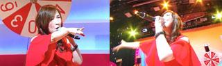 森口博子さんが歌う。