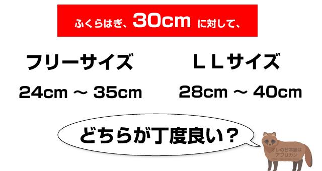 フリーサイズとLLサイズのどちらを買おう?