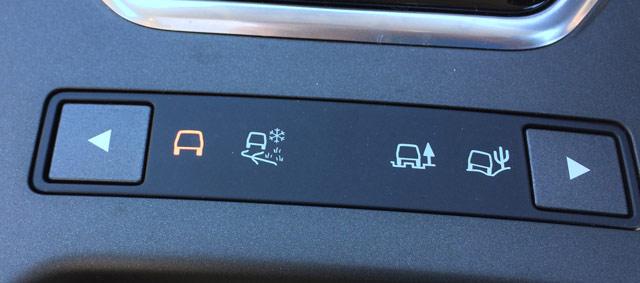 ドライブモードのインジゲーター