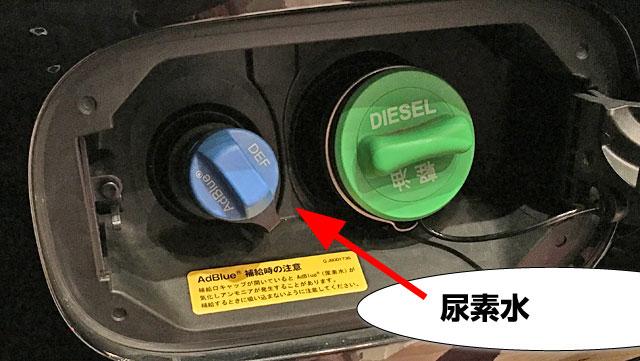 ディーゼルエンジンに尿素は付き物