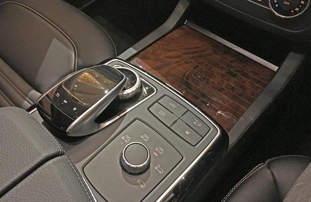 GLC 220 d 4MATIC Coupe Sportsのコマンドシステム