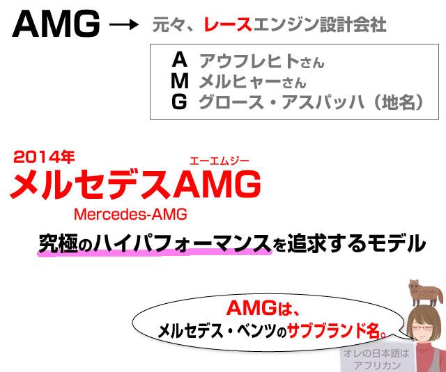 AMGを分かりやすく説明