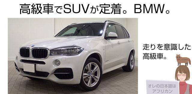 BMWのSUV、X5/X3のメーター改ざん