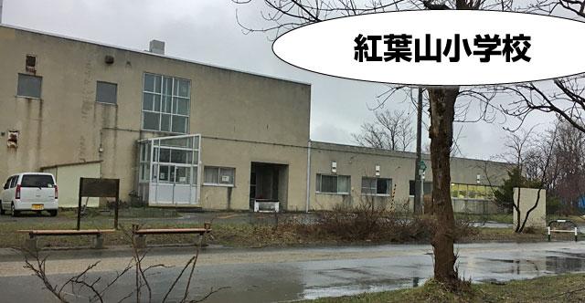 紅葉山小学校エリア