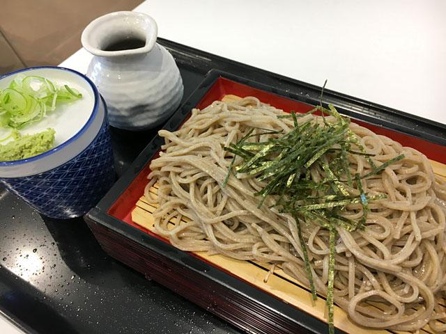 ざる蕎麦700円
