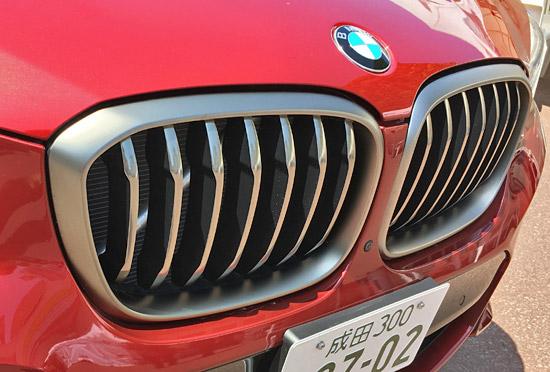 BMW X4 M40iのキドニーグリル