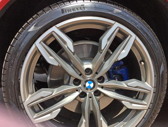 BMW X4 M40iの21インチホイール