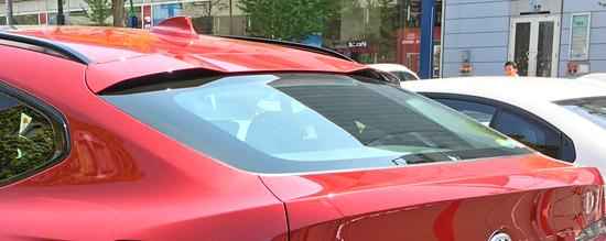 BMW X4 M40iのトランクとリアウィンドウ