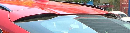 BMW X4 M40iのディフューザー