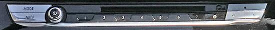 BMW X4 M40iのオーディオCDスイッチ