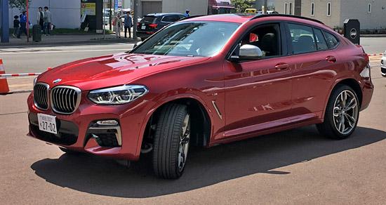 BMW X4 M40iの試乗のまとめ