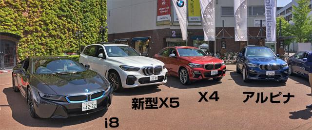 BMWの札幌試乗会。サッポロファクトリーにて