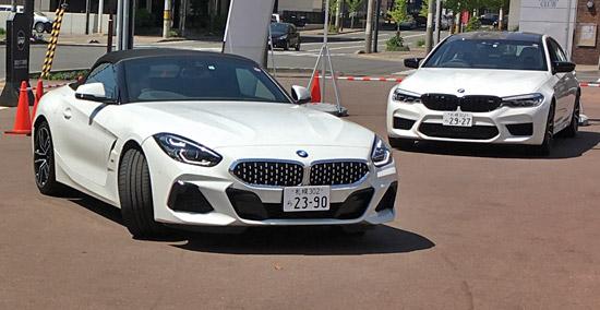 BMW M5とZ4