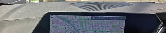 ダッシュボードはソフトレザーで映り込みナシ。