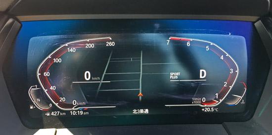 BMWのフル液晶メーター