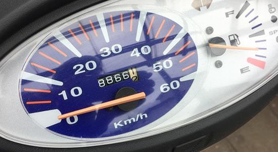 8866kmになるまで全開走行