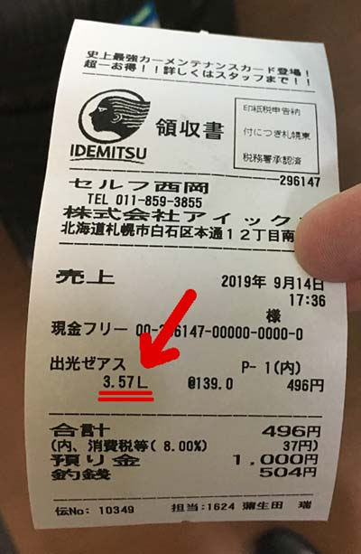 N-MAX125ABSの実燃費は、52.9km